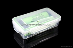 Waterproof 18650 battery case\ Storage box
