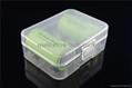 18500 battery plastic case\Battery Storage box
