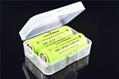 18350 battery plastic case\Battery Storage box