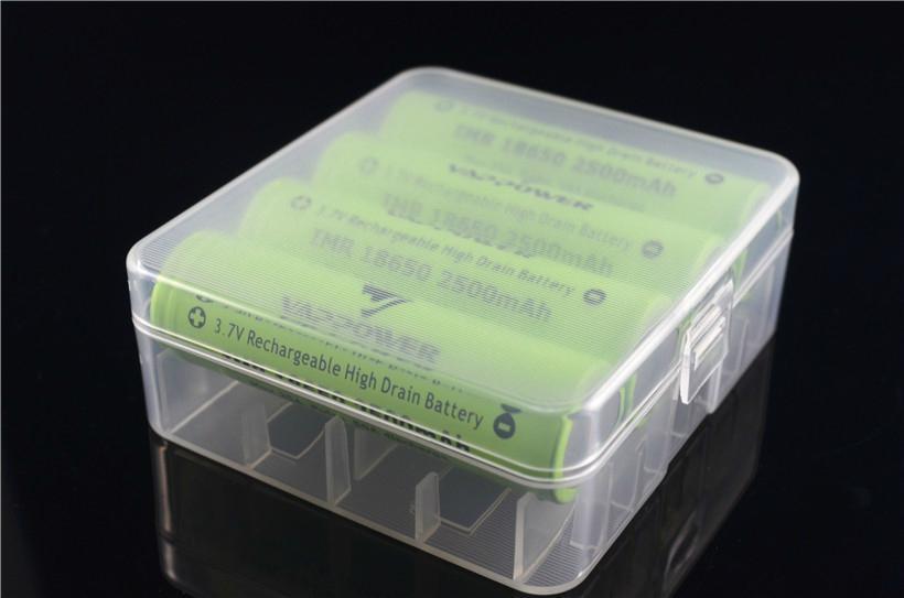 4pcs 18650 Battery Plastic Box\ Battery Storage Box 1 ...