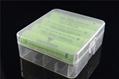 4pcs 18650 battery plastic box\ Battery Storage box