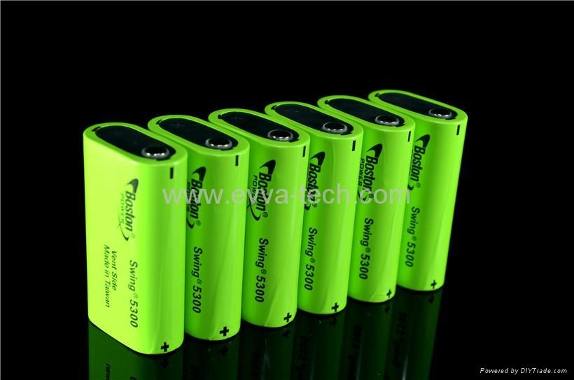 3 7v lithium ion akku boston power swing 5300mah battery. Black Bedroom Furniture Sets. Home Design Ideas