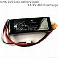 Vappower DNA 200 11.1V 950mAh Lipo battery pack for  E-Cigarettes