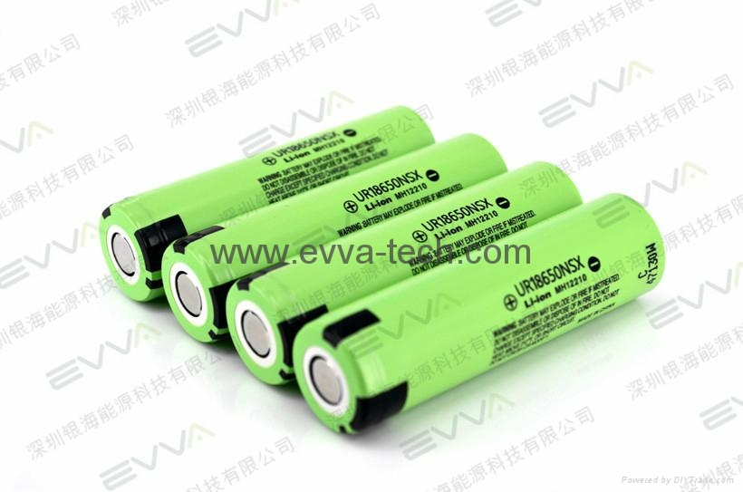 Panasonic UR18650NSX  3.6V 2600mAh 20A discharge high power battery