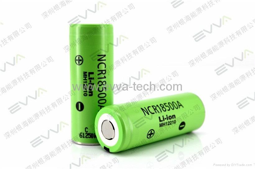 Panasonic NCR18500A 3.6V 2040mAhAKKU the highest capacity 18500 battery cell