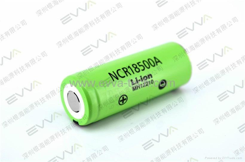 Panasonic NCR18500A  3.7V 2040mAh Authentic 18500 li-ion battery cell