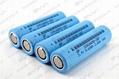 Gold Peak AKKU GP battery ICR18650-26F 2600mAh battery cell.