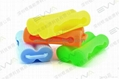 Protection Silicone Case for 2pc 18650 Batteries