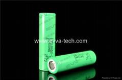 Samsung INR18650-25R 3.7V 2500mAh 20A high drain rechargeable li-ion battery