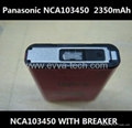 The newest Panasonic NCA103450  With Breaker 2350mAh AKKU Lithium ion battery