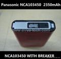 8.5Wh Panasonic NCA103450 With Breaker 2350mAh AKKU 103450 Lithium ion battery