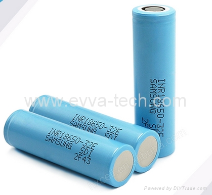 Samsung INR18650-32E 3200mAh 10A  high drain li-ion batteries
