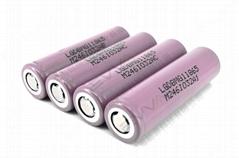 LG INR18650MG1 3.6V 2900mAh 10A 18650 AKKU e-bike battery