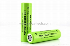 Vappower IMR18650-31 3100mAh 35A high power  battery for E-cigarette