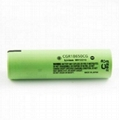 Panasonic CGR18650CG 2250mAH 10A 3.7v li-ion battery flat top for Golf Buggy