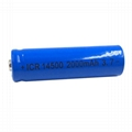 14500 2200Mah Li-ion 3.7v Rechargeable LED Flashlight Camera Battery