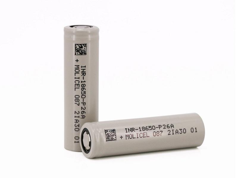 Molicel 18650 P26A 35A High drain Batteries INR18650-P26A for UAV/ DRONE