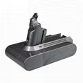 21.6V Vacuum Cleaner batteries 18650 rechargeable battery for Dyson V6