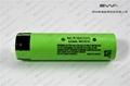The best capacity 18650 3600mAh Panasonic NCR18650G lithium ion battery