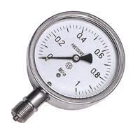 YTF-100,150型全不鏽鋼壓力表