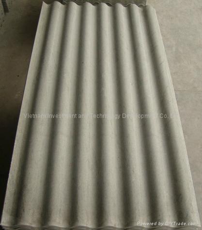 Non Asbestos Corrugated Cement Roofing Sheet Duragreen