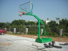 廣州最新移動箱式籃球架