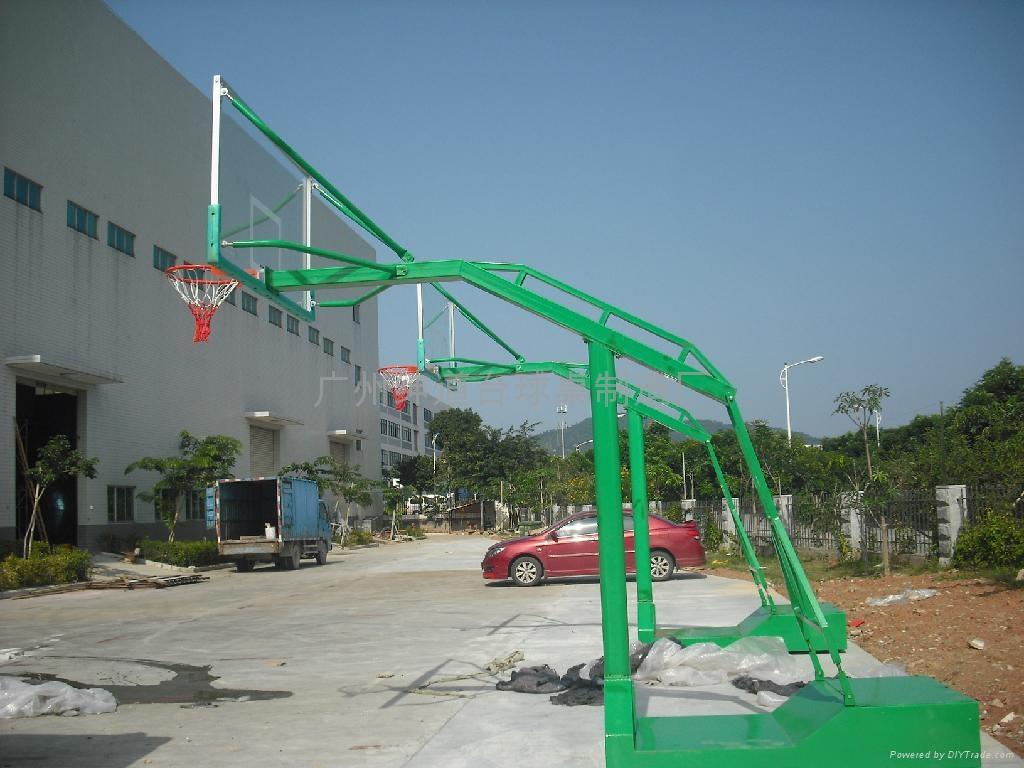 广州最新移动箱式篮球架 2