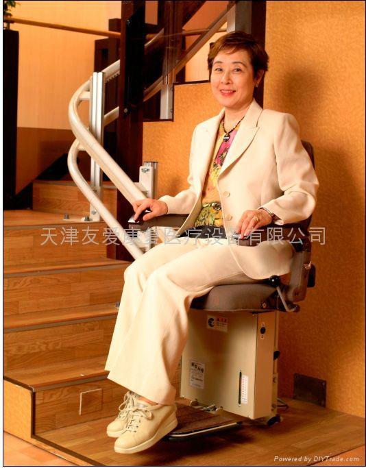曲线型楼梯升降椅 1