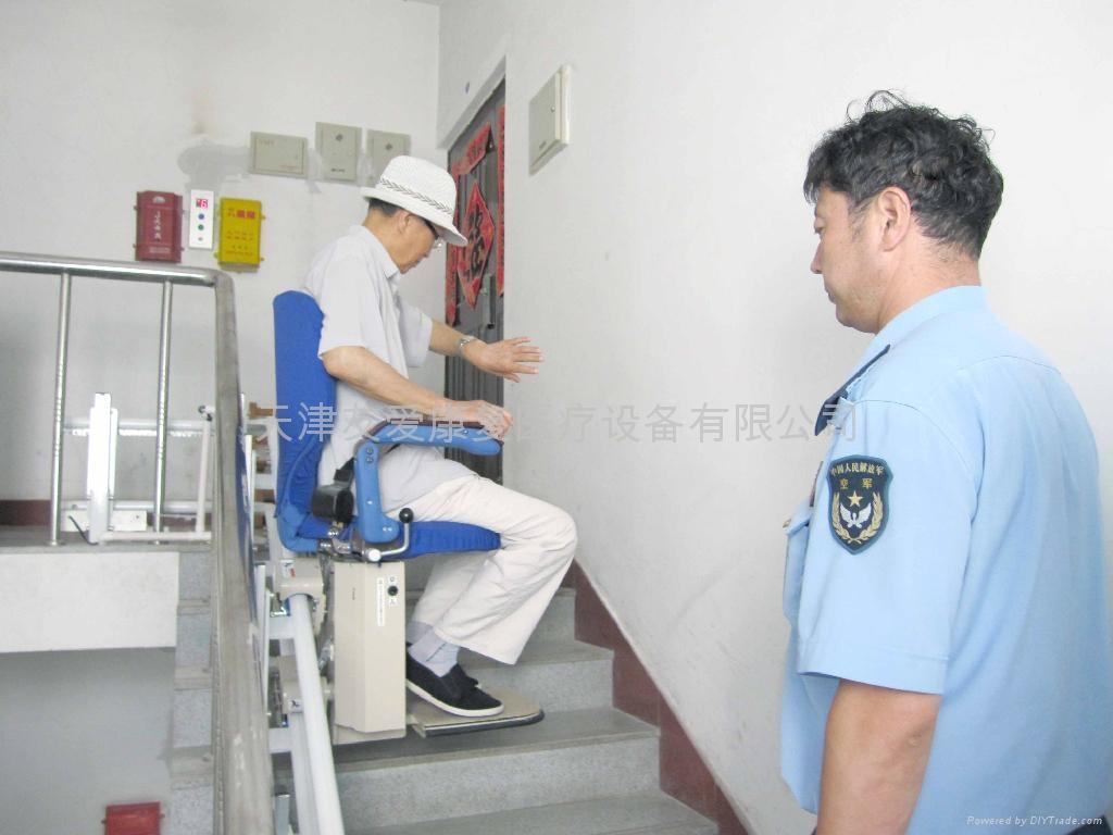 曲线型楼梯升降椅 3
