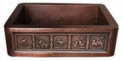 銅盆,傳統純手工銅盆, 1601-H
