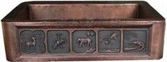 銅盆純手工銅盆1610-H