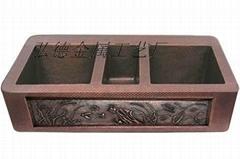 銅盆,傳統純手工銅盆,1404-H