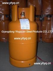 出口尼日利亞液化石油氣鋼瓶