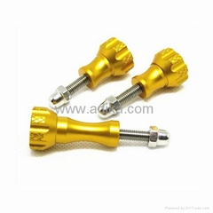 Aluminum thumb knob stainless bolt nut screw