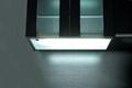 Motion sensitive wall cupboard lighting