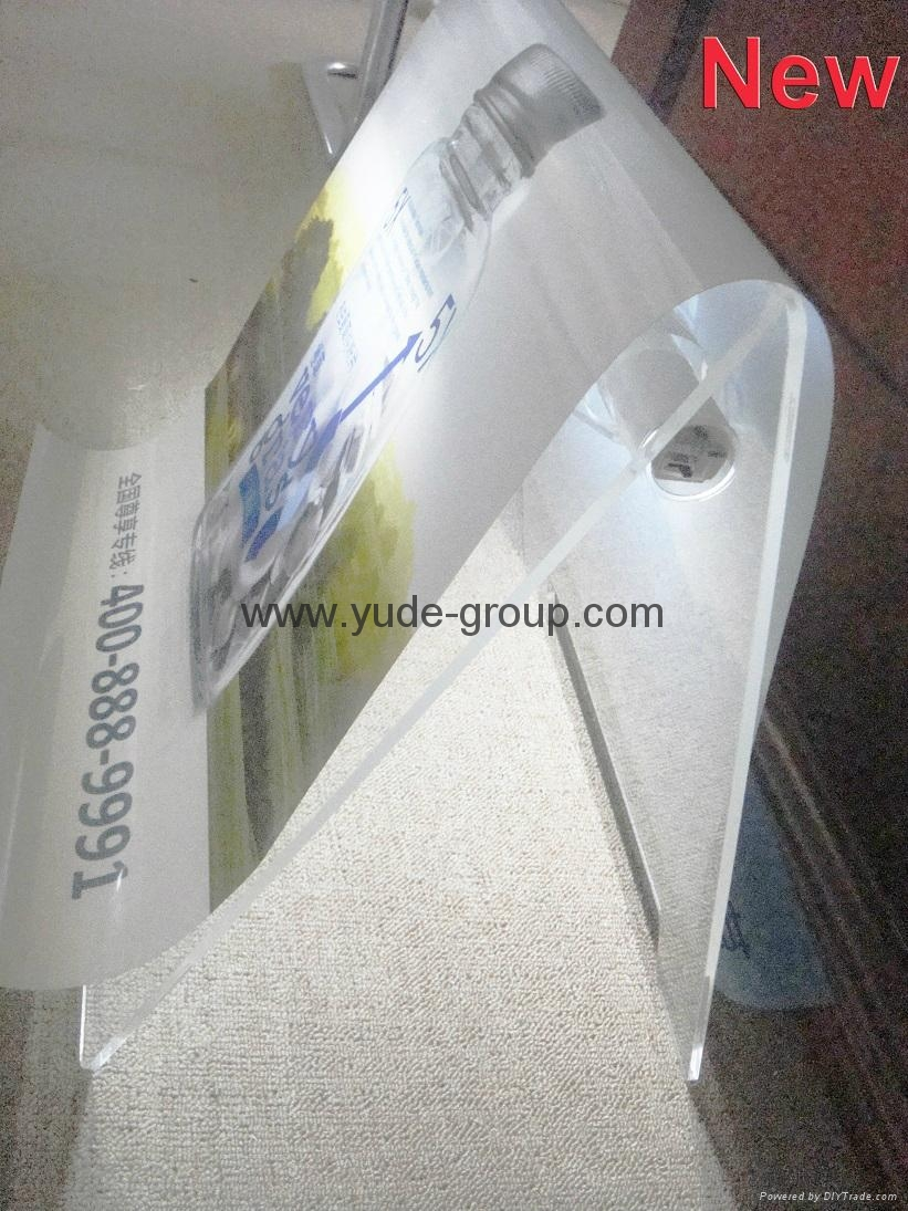 Acrylic led sign for outdoor led acrylic diplay