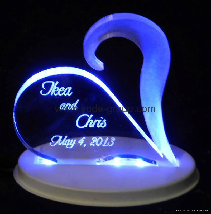 Acrylic led sign for outdoor led acrylic diplay 3