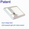 LED Bluetooth Light with Motion Sensor