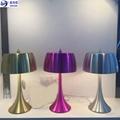 Hotel project LED table lights Custom made ALU