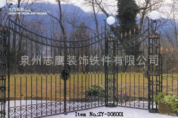wrought iron gate 1