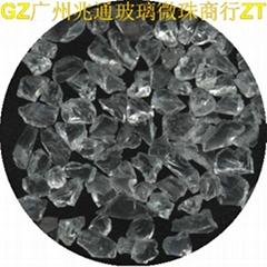 喷砂材料(玻璃珠、玻璃砂)