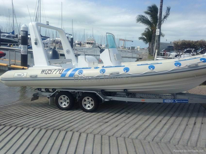 Rigid Inflatable boat RIB BM680 2