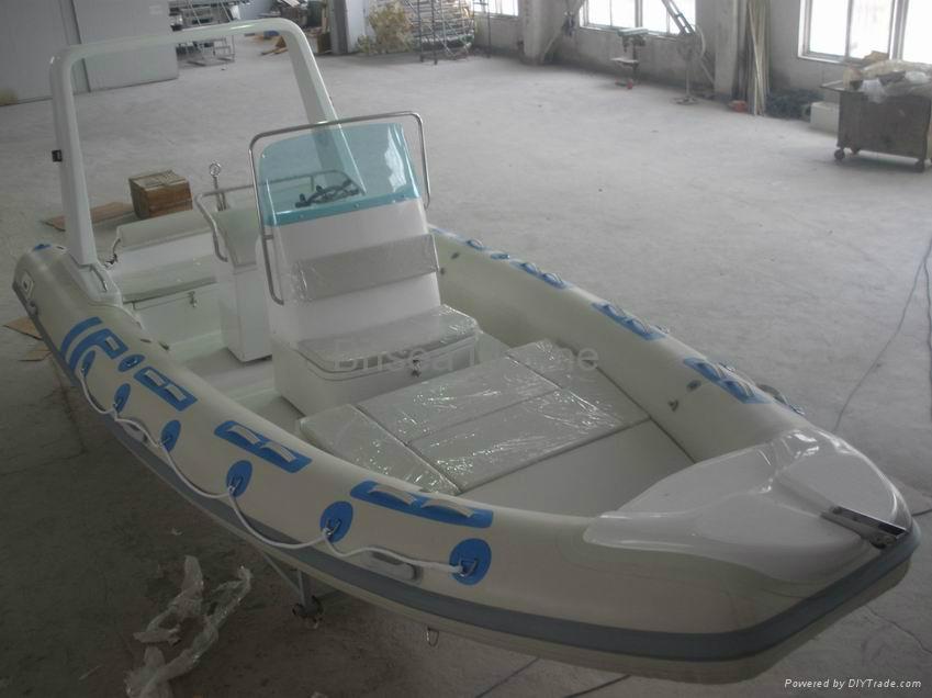 Rigid Inflatable boat RIB BM680 3