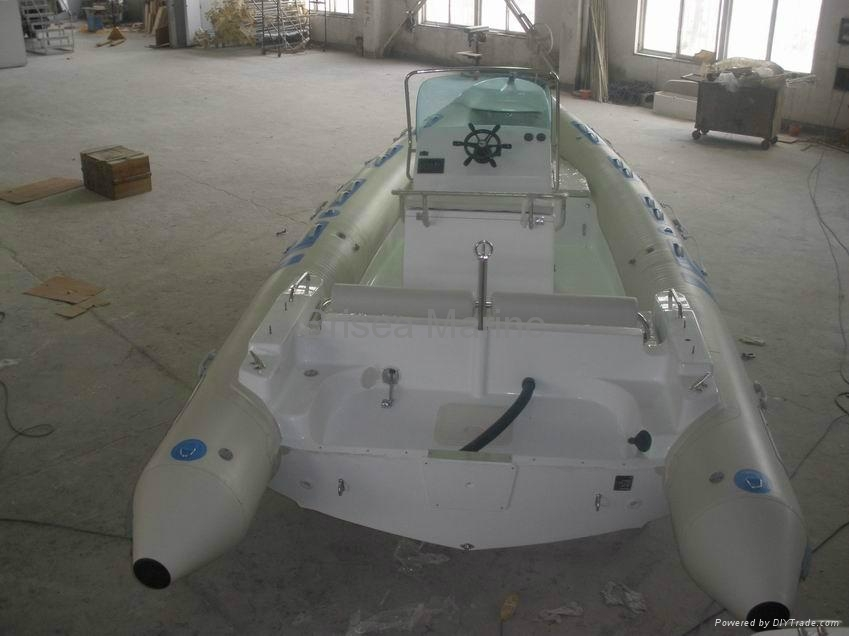 Rigid Inflatable boat RIB BM680 4