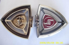 ABS chrome plated car emblem wheel cap