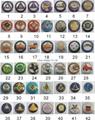 2015 Hot sale Masonic metal pin badge 4