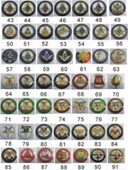 2015热销共济会徽章