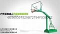 湖南力特體育供應移動式地埋式籃球架 4