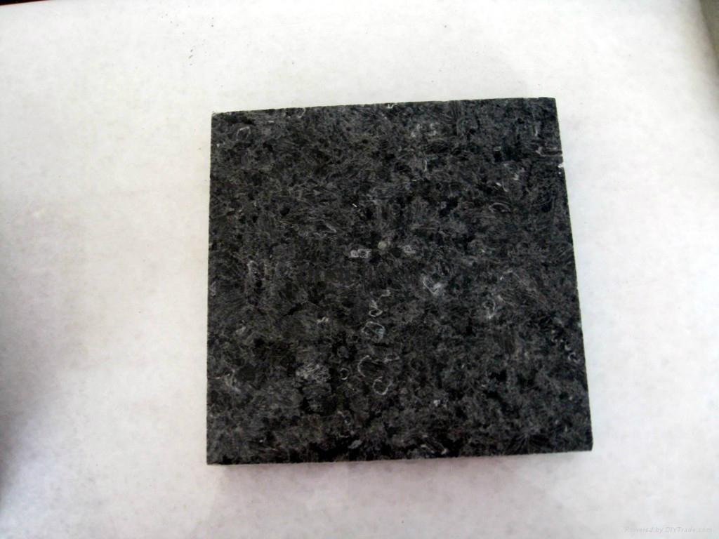冰花藍 花崗石冰花蘭石材燒面毛光板 2