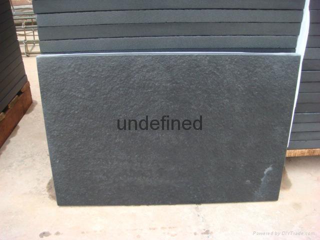 雅蒙黑石材四川黑石材光面燒面荔枝面毛板 2